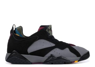 Offert Air Jordan 7 Low Nrg 'Bordeaux' Noir Gris (ar4422-034)
