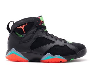 Offert Air Jordan 7 Retro '30Th Barcelona Nights' Noir Orange (705350-007)
