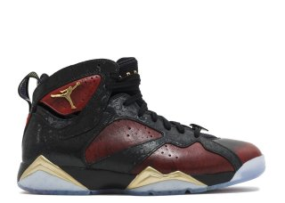 Offert Air Jordan 7 Retro Db 'Doernbecher' Noir Métallique Or (898651-015)
