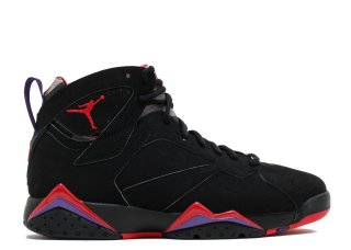 Offert Air Jordan 7 Retro 'Raptor' Noir Rouge (304775-006)