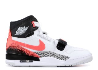 Offert Air Jordan Legacy 312 Nrg 'Hot Lava' Blanc Noir Orange (aq4160-108)