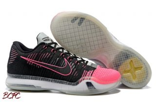 Offert Nike Kobe X 10 Elite Low 'Mambacurial' Noir Gris Rose