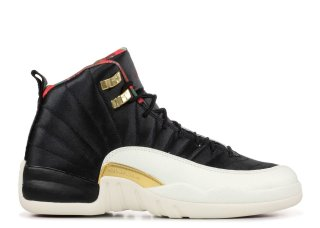 Offert Air Jordan 12 Retro Cny (GS) Chinese New Year Noir (BQ6497-006)