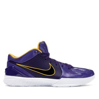 Offert Nike Zoom Kobe IV 4 Protro Undefeated 'Los Angeles Lakers' Pourpre (CQ3869-500)