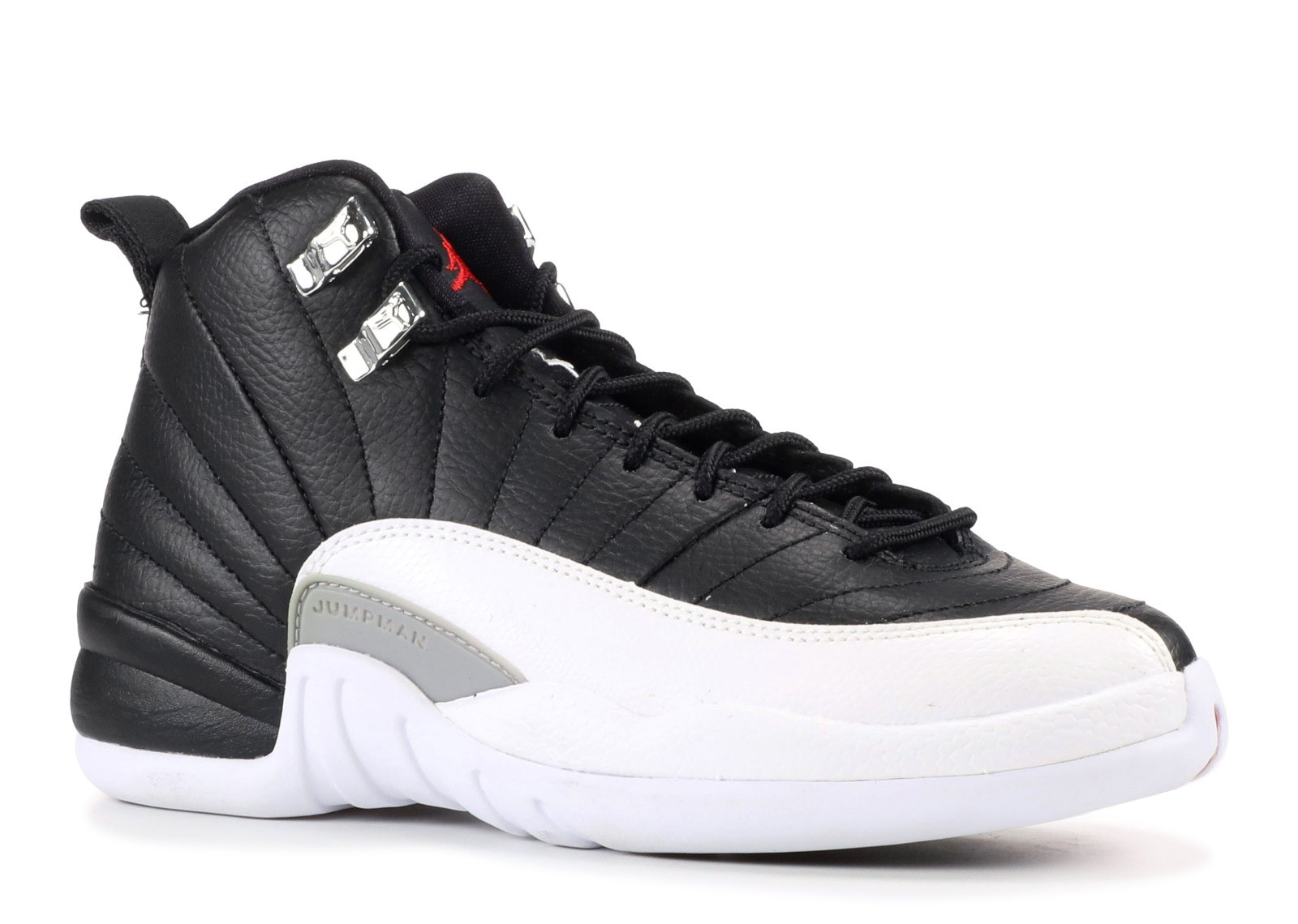 Offert Air Jordan 12 Retro (Gs) 'Playoff 2012 Release' Noir Blanc (153265-001)