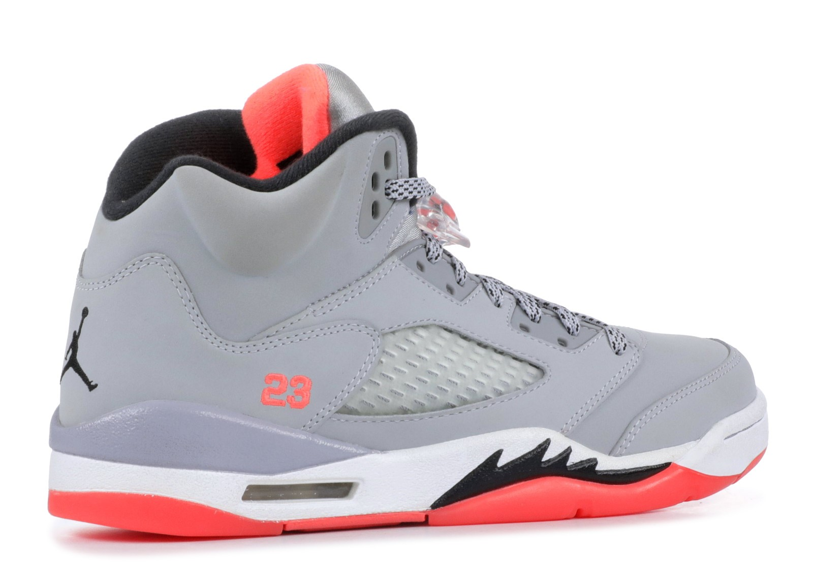 Offert Air Jordan 5 Retro Gg (Gs) 'Hot Lava' Gris Orange (440892-018)